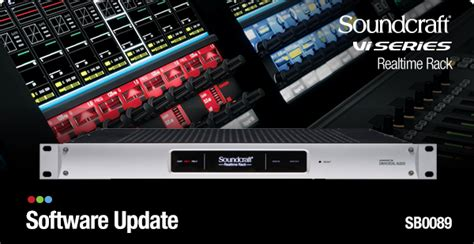 Soundcraft Realtime Rack - New Software Available