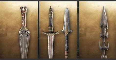 Assassin's Creed Odyssey | Weapon List & Traits - Sword
