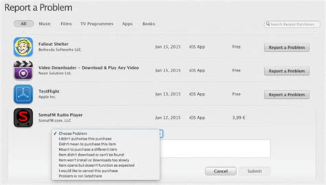How to Get a Refund for iTunes or App Store Purchases