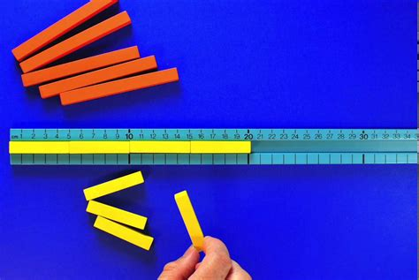 Extract from 'Exploring Numbers Through Cuisenaire Rods
