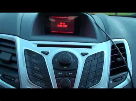 Ford Fiesta interior review - YouTube