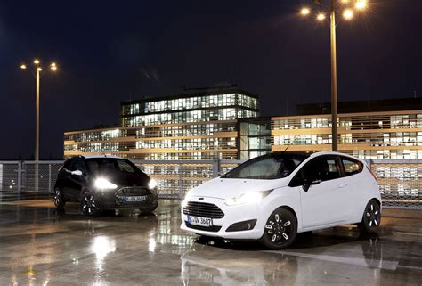 Ford Introduces Black and White Editions for the Fiesta