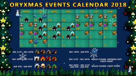 Weekend & Realm Chest Events! [Dec 14th to Dec 18th