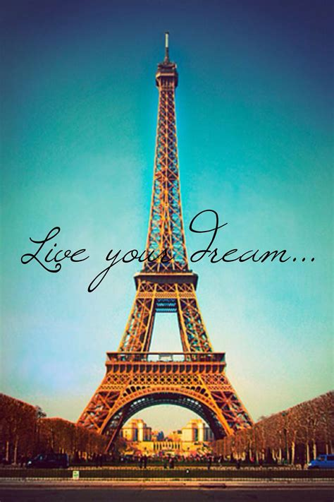 #Cute #Eiffel #Tower pic! ~Live your #dream~ #travel #