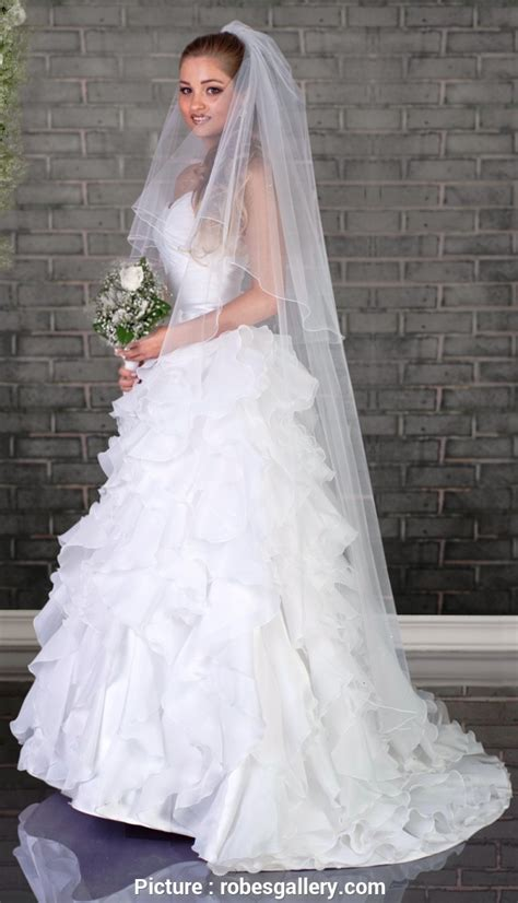 robe mariage voile