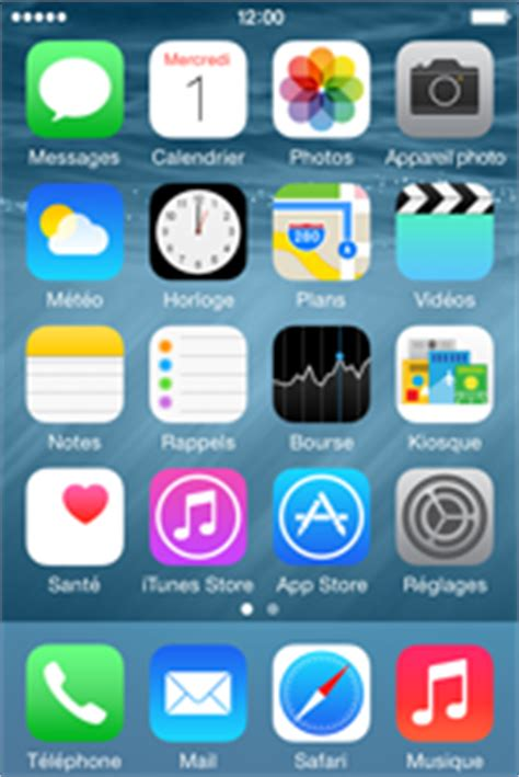 Bouygues Telecom - Apple iPhone 4S (iOS 8) - Applications