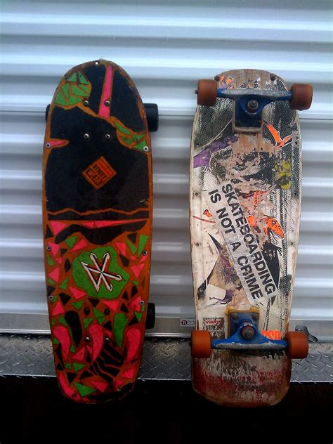 my old 80's skateboard decks   Rescued from my parent's