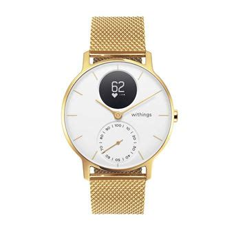 Montre connectée Withings/Nokia Steel HR Or 36 mm