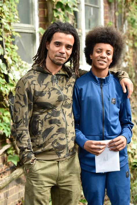 Rapper and author Akala with his younger brother and GCSE