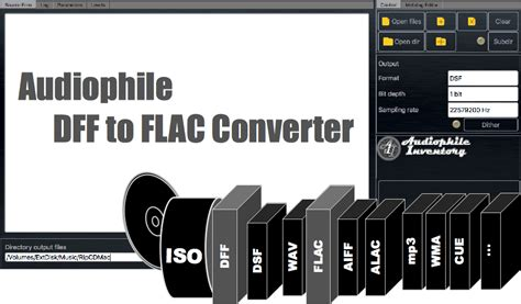 DFF to FLAC Converter for Mac OSX, Windows [Software]
