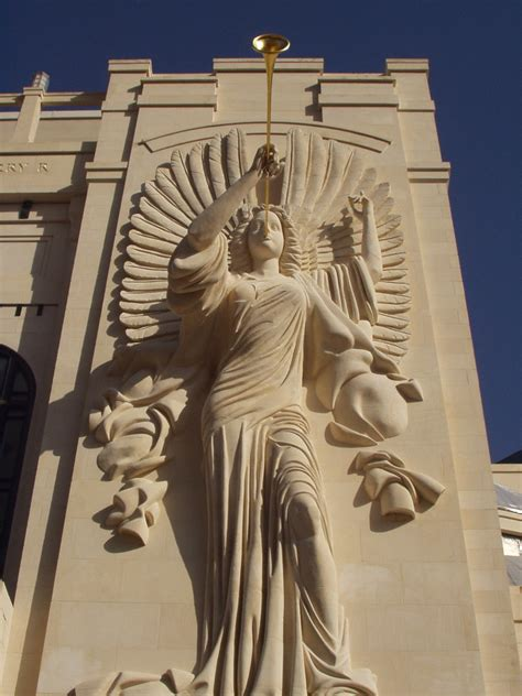 Bass Hall Angel   One of the two angels that grace the