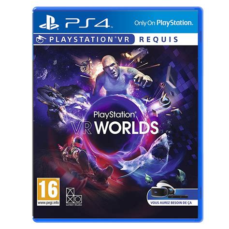 PlayStation VR Worlds (PS VR) - Jeux PS4 Sony Interactive