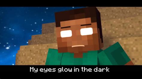 herobrine song minecraft song no body can take me down