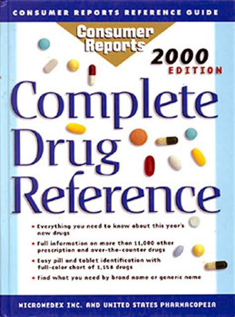 Erowid Library/Bookstore : 'Complete Drug Reference'