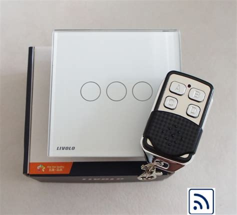 ale! LIVOLO Luxury Touch Switch - Glass Panel Remote