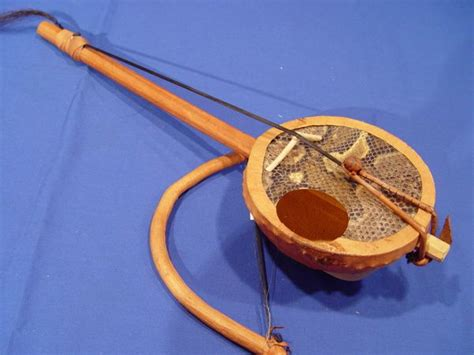 The Goje is a one string fiddle from Nigeria