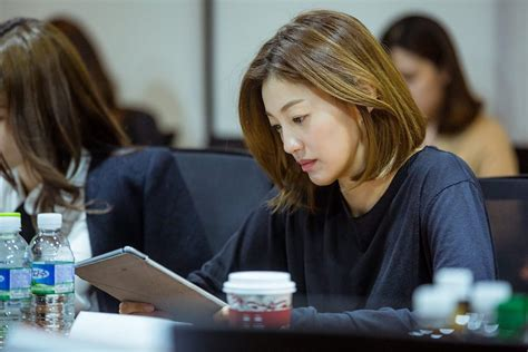 """First script reading for tvN drama series """"A Korean"""