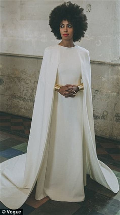 Katy Perry copies Solange Knowles' wedding dress for
