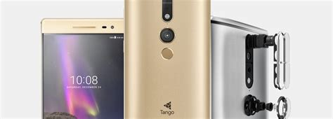 Lenovo Unveils the World's First Project Tango Smartphone