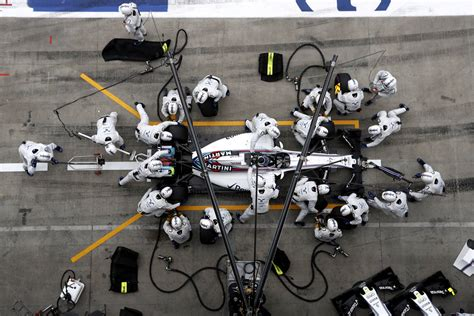 The science of F1 pit stops: How Williams smashed the two