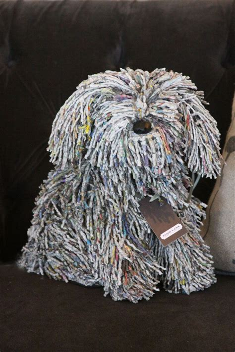 recycled paper dog | Paper Arts | Pinterest | Jack o