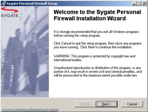 Tutorial Sygate Personal Firewall - Tutorial - Articles