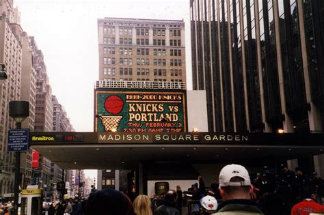 NYC: Madison Square Garden - Marquee | Madison Square