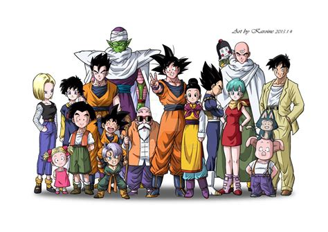 Dragon Ball Z Kai - Family photo by karoine on DeviantArt
