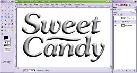 Create sweet candy text! — Tutorials — gimpusers