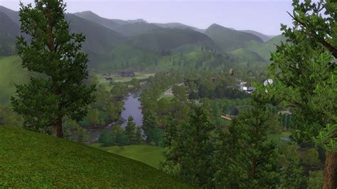Mod The Sims - Riverblossom Hills - World and Population