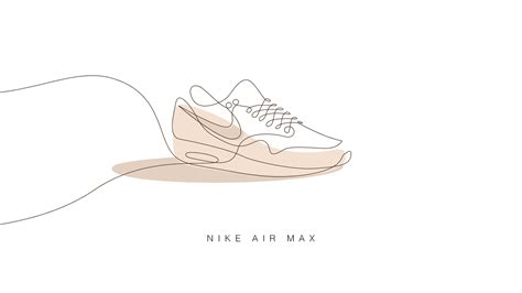 10 famous sneakers drawn with one line - Digital Arts