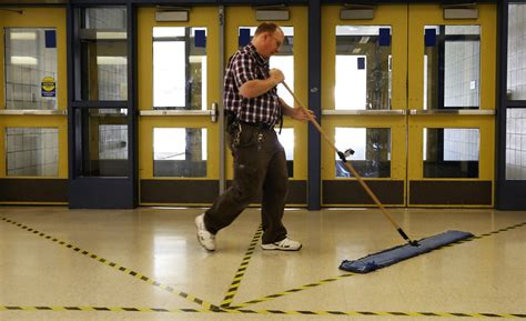 National Janitor of the Year? Honor may await local school