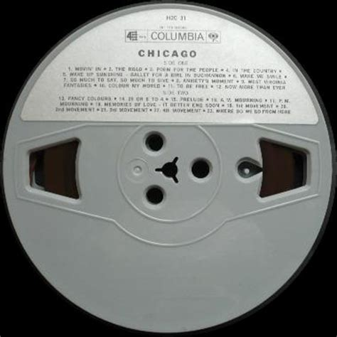 Chicago-Holland - the reel to reel Tapes