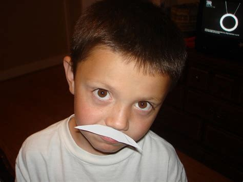 kids with mustaches - a gallery on Flickr