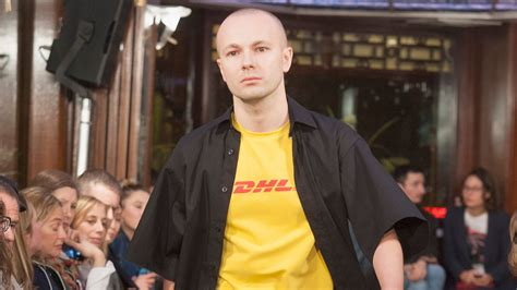 Of Course a DHL Exec Wore That Vetements DHL T-shirt | GQ