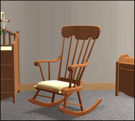 Mod The Sims - Nursery Add-Ons II: A rocking chair and