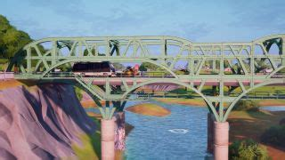 Fortnite steel bridges: where to find the yellow and red