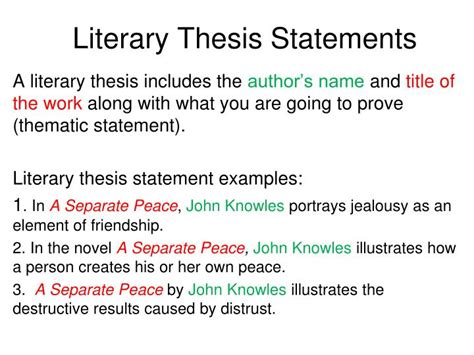 buy thesis