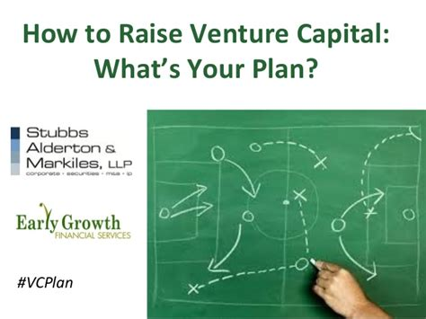How to Raise Venture Capital: What's Your Plan?
