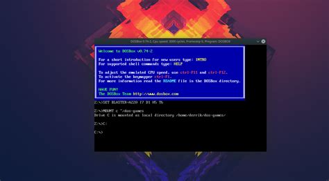 How to play MS-Dos games on Linux with DOSBox