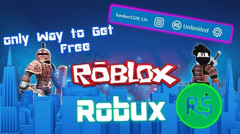 How to get Free Robux 100% (Only way) With Proof