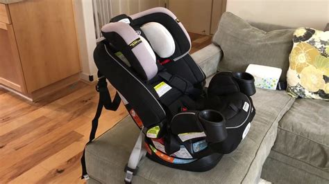 How To Install Graco 4ever All-in-One Convertible Car Seat