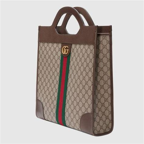 Ophidia GG medium top handle tote - Gucci Men's Totes