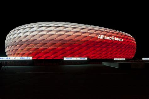 Connected Philips LED lighting for the Allianz Arena: FC